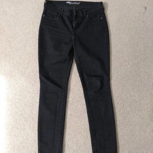 Old Navy W Sweetheart Black Straight Jeans Size 10